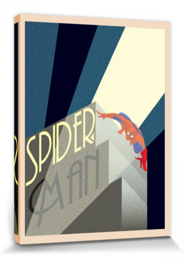 Spider-Man - Marvel Comics, Art Deco