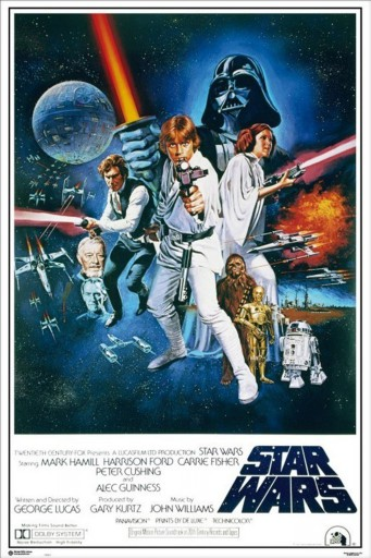 Star Wars - Episode IV, A New Hope, One Sheet