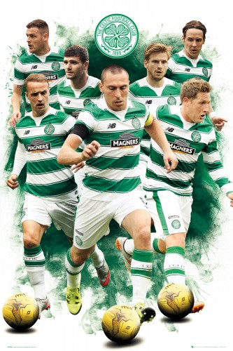 Football - Celtic, Players 15-16