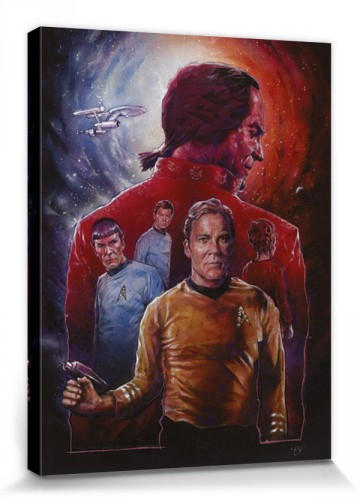 Star Trek Space Seed 50th Anniversar Stretched Canvas