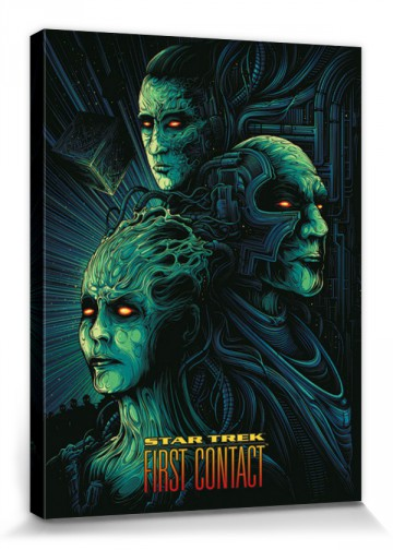 Star Trek First Contact 50th Anniversar Stretched