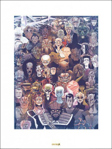 Star Trek Adversaries 50th Anniversar Art Prints