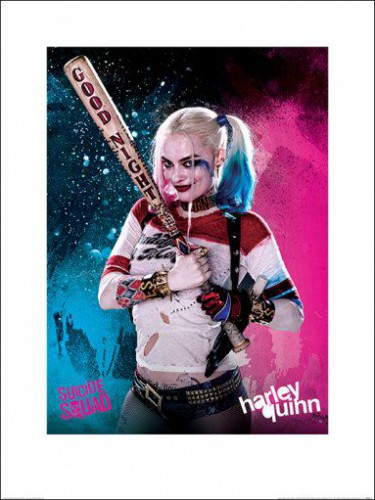 Suicide Squad Harley Quinn Good Night Art Prints
