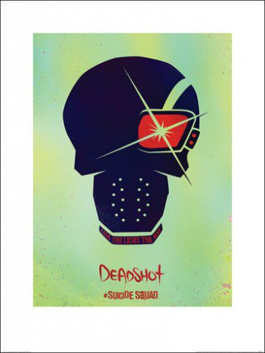 Suicide Squad Deadshot Skull Art Prints Buy Posters