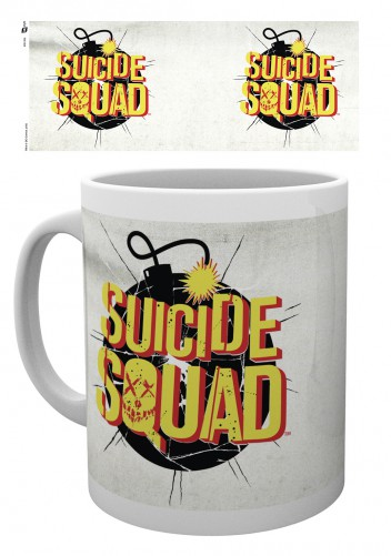 Suicide Squad Bomb Logo Mugs Buy Posters Online With