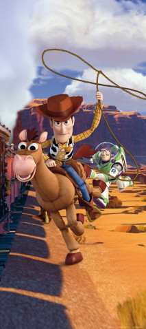 Toy Story - Woody Swings The Lasso