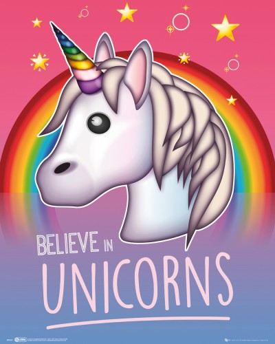 Unicorns - Emoji, I Believe In Unicorns