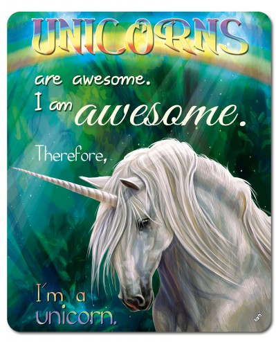 Einhörner - Unicorns Are Awesome, I Am Awesome, Therefore I Am A Unicorn
