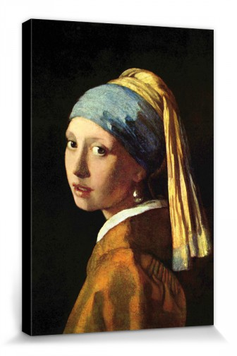 Johannes Vermeer - Girl With A Pearl Earring, 1665