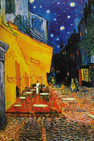 Vincent Van Gogh - The Cafe Terrace On The Place Du Forum, Arles, At Night, 1888