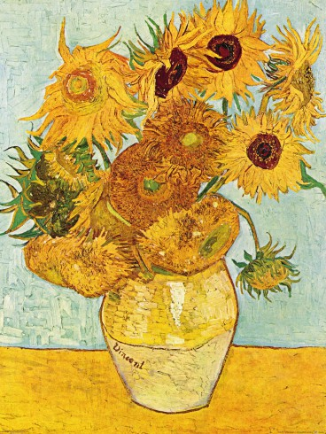 Vincent Van Gogh - Vase With Twelve Sunflowers, 1888