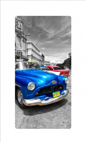 Oldtimer - Blue Car