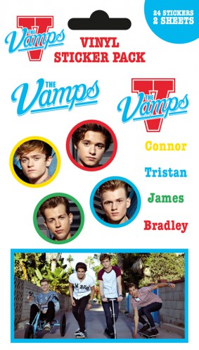 The Vamps - Mix, 24 Stickers