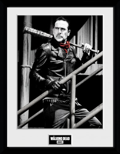 The Walking Dead - Negan Stairs