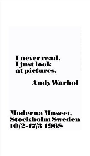 Andy Warhol - I Never Read