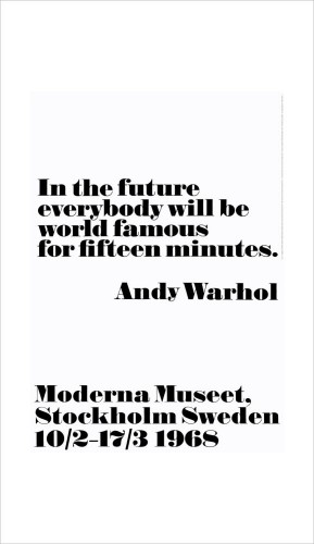Andy Warhol - In The Future
