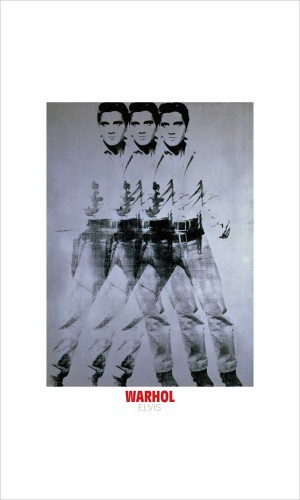 Andy Warhol - Elvis, 1963 (triple Elvis)