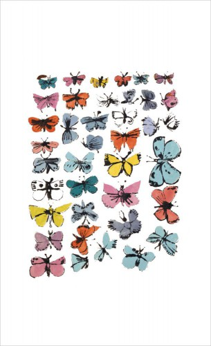 Andy Warhol - Butterflies, 1955 (many/varied Colors)
