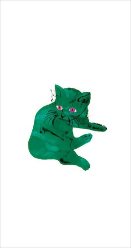 Andy Warhol - Green Cat, C. 1954