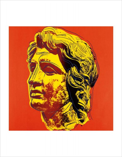 Andy Warhol - Alexander The Great, 1982 (yellow Face)
