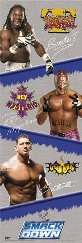 Wrestling - WWE, Smackdown Superstars (d)