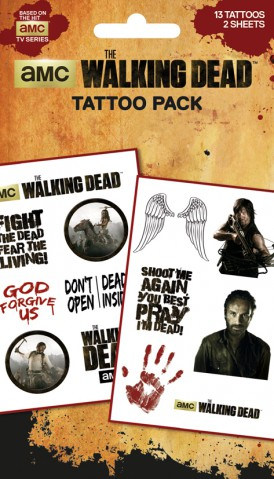 The Walking Dead - Characters, 13 Tattoos