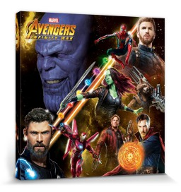 The Avengers - Infinity War, Space Montage