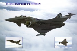 Avions - Eurofighter Typhoon