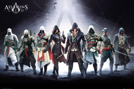 Assassin's Creed - Desmond Miles, Connor Kenway
