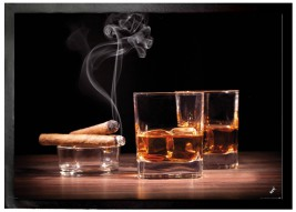 Alcoholic Beverages - Whiskey And Cigars