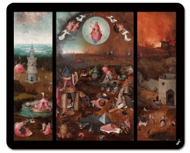 Hieronymus Bosch - The Last Judgment, Triptych, Circa 1482