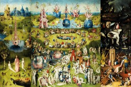Hieronymus Bosch - The Garden Of Earthly Delights, 1500