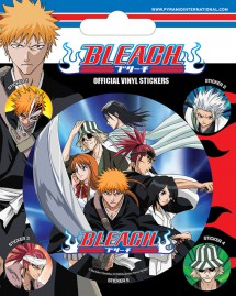 Bleach - 1 Large 4 Small Stickers