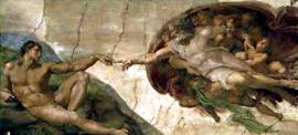 Michelangelo Buonarroti - The Creation Of Adam