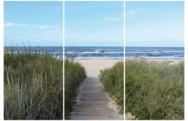 Beaches - Path To The Ocean, 3 Parts
