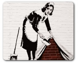 Banksy - Chambermaid, Swept Under