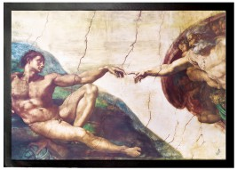 Michelangelo Buonarroti - The Creation Of Adam, 1508-1512