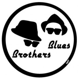 Blues Brothers Logo Hats And Sunglasses Vinyl