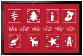 Christmas - X-Mas Tree, Stocking, Cookie, Candle, Reindeer Icons