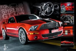 Voitures - Easton Mustang Rouge