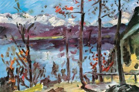 Lovis Corinth - Easter At The Walchensee, 1922