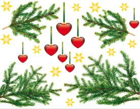 Christmas - Hearty Fir Tree Branches