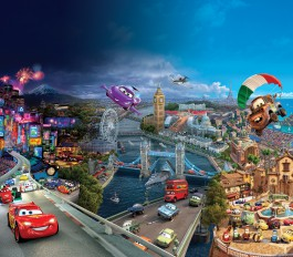 Cars - Lightning Mcqueen, Mater And Friends, Racing In London And Tokyo
