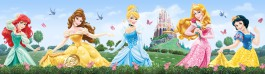 Disney Prinzessin - Ariel, Jasmine, Belle, Cinderella And Snow White, Disney