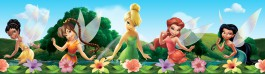 Disney Fairies - Tinker Bell, Rosetta, Silvermist, Iridessa And Fawn, Disney