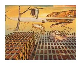 Salvador Dali - The Disintegration Of The Persistence Of Memory, 1952