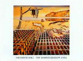 Salvador Dali - The Disintegration