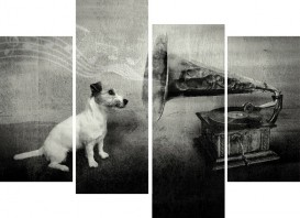 Dogs - His Master's Voice, Jack Russell Terrier, 4 Parts