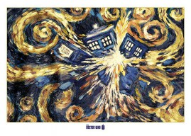 Doctor Who - Explodierende Tardis