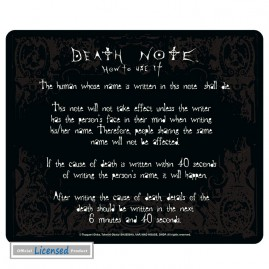 Death Note - Rules